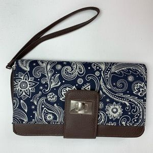 Handbags - Clutch Wallet Pocketed Hand Strap Purse